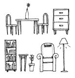 Furniture / Home equipment and decoration Stock Image