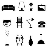 Furniture icon Royalty Free Stock Photo