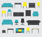 Furniture Icon Royalty Free Stock Image