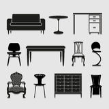 Furniture icon great for any use. Vector EPS10. Royalty Free Stock Photo