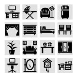 Furniture icons  set Stock Photo