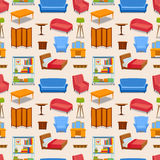 Furniture icons vector  Stock Images