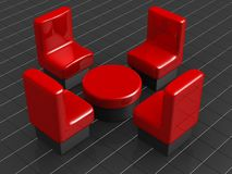 Furniture and interior concept Royalty Free Stock Images