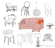 Furniture. Interior element. Stock Photo