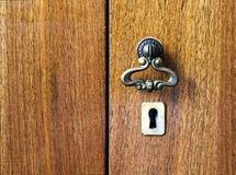 Furniture keyhole Royalty Free Stock Image