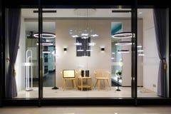 Free Furniture Lighting Display Window Shop Window Store Window Royalty Free Stock Images - 138022559