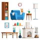 Furniture Living room set Stock Image
