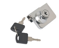 Furniture lock and keys to it Stock Photos