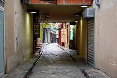 Furniture makers street in Paris Royalty Free Stock Photos