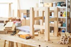 Furniture making craft Royalty Free Stock Photography