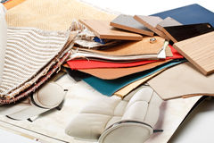 Furniture materials Royalty Free Stock Photo