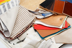 Furniture materials Royalty Free Stock Photography