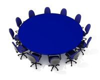 Furniture for meeting Stock Photo