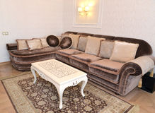 Furniture in a modern classical drawing room Stock Image