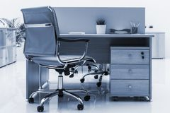 Furniture in modern office. Beautiful furniture in a modern office stock images