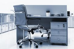 Furniture in a office. Beautiful furniture in a modern office stock photos