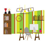 Furniture office work space  Royalty Free Stock Images