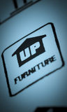 Furniture packaging Stock Photo