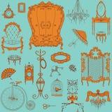 Furniture pattern Stock Photo