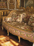 Furniture in Queen Marie Antoinette bedroom at Versailles Palace Royalty Free Stock Images