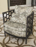 Furniture from rattan. Suitable for balcony and interior Stock Photos