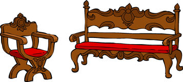 Furniture Renaissance Royalty Free Stock Photo