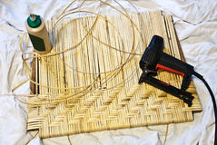 Furniture Repair/Crafts /Caning Stock Photos