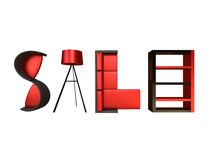 Furniture Sale Advertisement Royalty Free Stock Photo