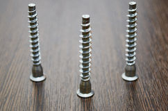 Furniture screws Royalty Free Stock Photo