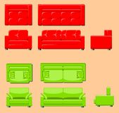 Furniture set Stock Photo
