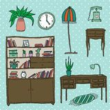 Furniture - Set of design elements Stock Photo