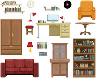 Furniture set Royalty Free Stock Photo