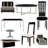 Furniture set Stock Images