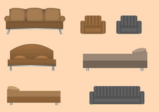 Furniture set Stock Image