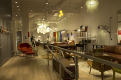 Furniture shop Royalty Free Stock Images