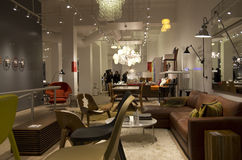 Furniture shop Stock Images