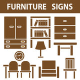 Furniture Signs Royalty Free Stock Photo