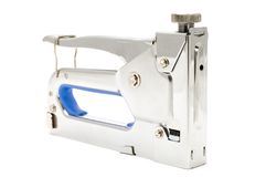 Furniture stapler Royalty Free Stock Photo