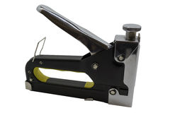 Furniture stapler black Stock Photo