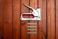 Furniture stapler Royalty Free Stock Image