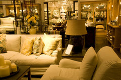 Furniture store. A store selling luxury furniture Royalty Free Stock Images