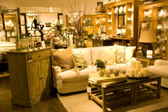 Furniture store. A store selling luxury furniture Stock Image