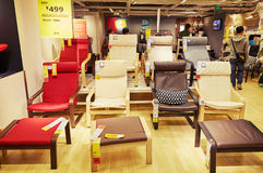furniture store shop Stock Photo
