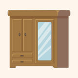 Furniture theme cabinet elements vector,eps. Vector illustration file Stock Image