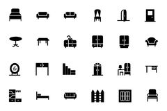 Furniture Vector Icons 1 Stock Photo