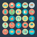 Furniture Vector Icons 3 Royalty Free Stock Photos