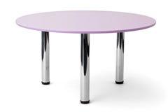 furniture Violeta redonda imagem de stock