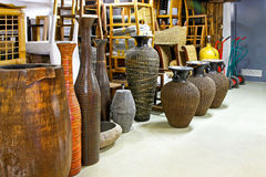Furniture warehouse Stock Photography