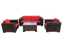 Furniture05. Garden furniture set Royalty Free Stock Images