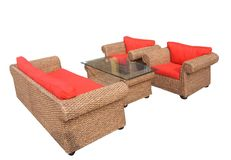 Furniture06. Garden furniture set Stock Image